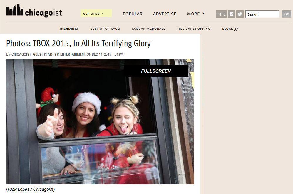 Chicagoist Blog Features TBOX 2015 Pub Crawl