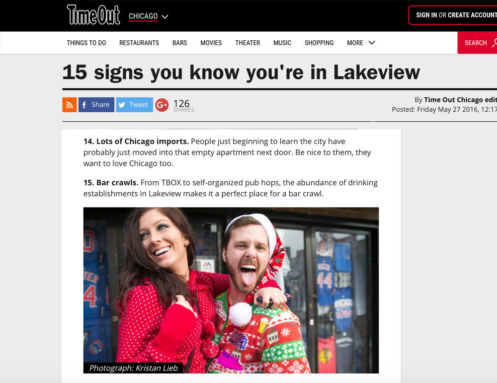 15_Signs_You_Know_Youre_In_Lakeview_TBOX_Press_2016_Chicago_Fun_Party_PubCrawl_Article_Wrigleyville_Event_Winter