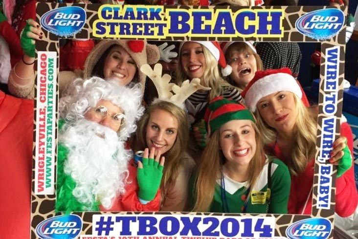 TBOX Picture / Photo Frame - Twelve Bars of Christmas Wrigleyville Pub Crawl