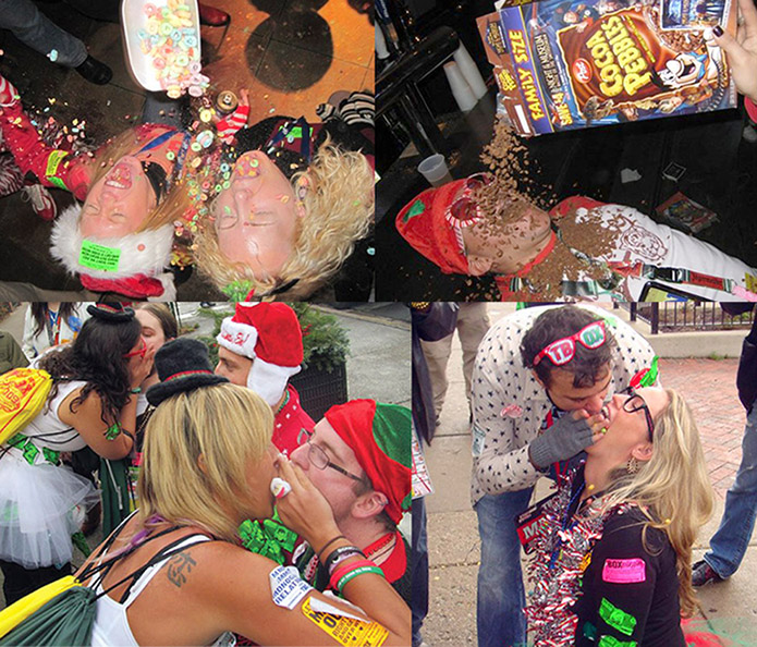 12 Bars of Xmas Bar Crawl - Cereal Craziness
