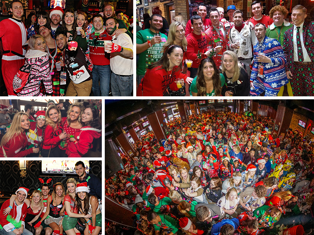 TBOX 2019 12 Bars of Xmas Chicago Bar Crawl Montage