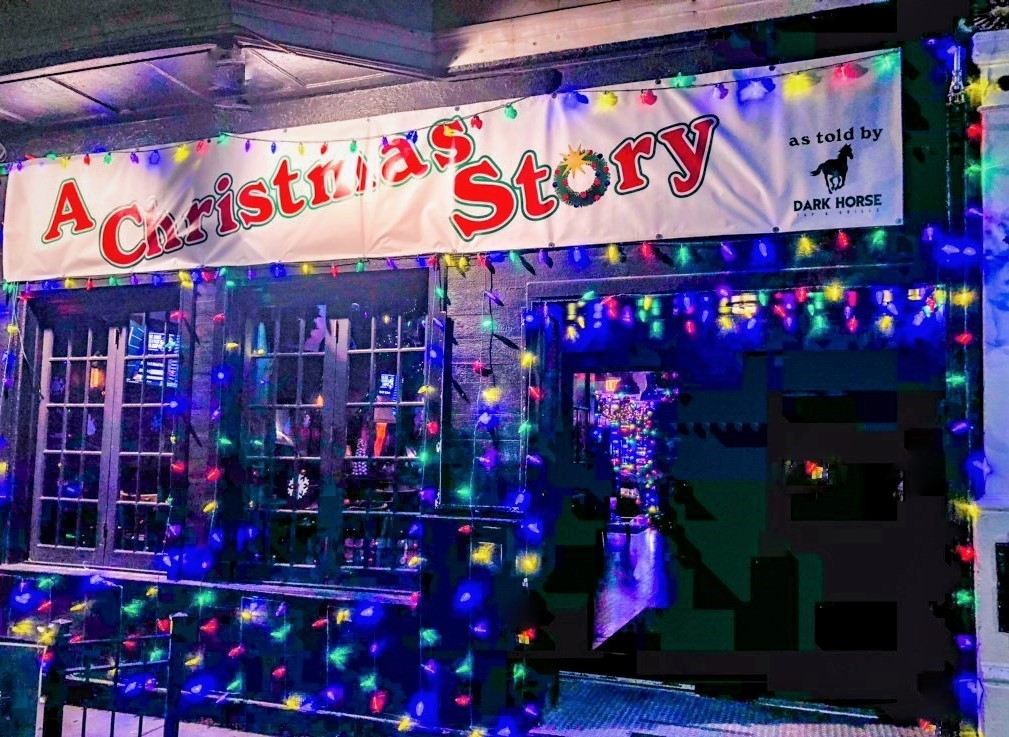 A CHRISTMAS STORY POP UP DARK HORSE TAP & GRILLE TBOX 2019 TWELVE BARS OF XMAS CHICAGO BAR CRAWL