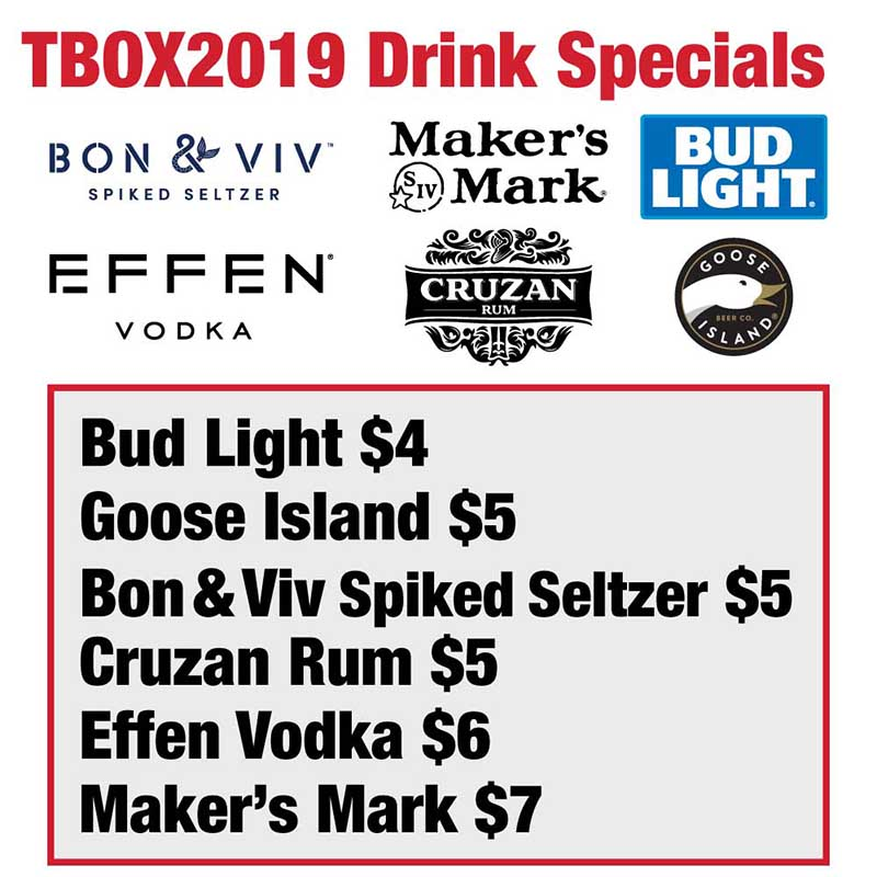 2019 Twelve Bars of Xmas Drink Specials / Drink Sponsors / Twelve Bars of Christmas Bar Crawl