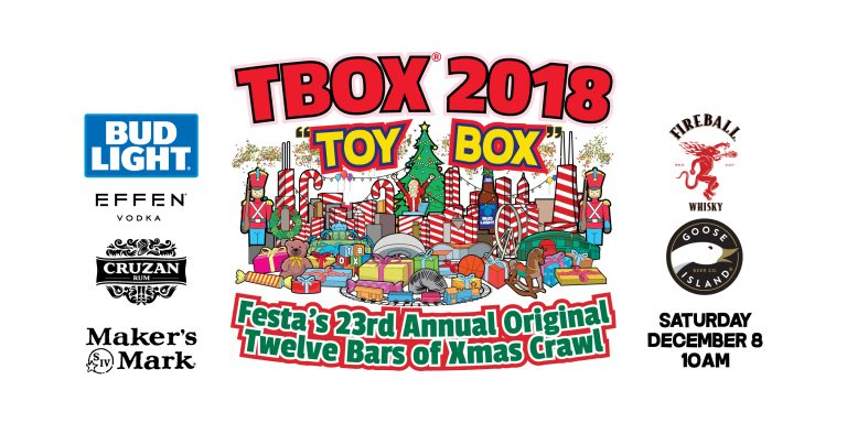 2018 / TBOX / Toy Box / Toy Pub Crawl