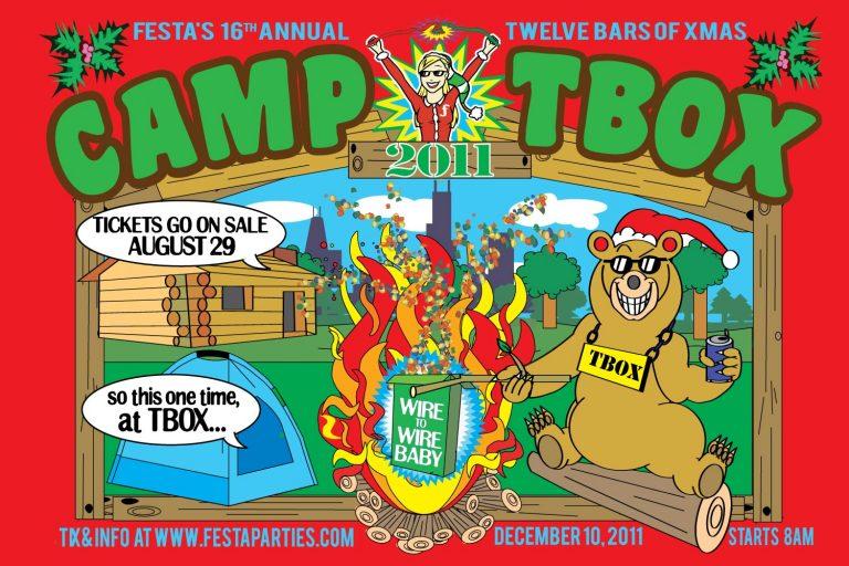 Camp TBOX 2011 - Twelve Bars of Xmas, Chicago Events, Chicago Pub Crawl