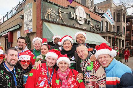 Murphy's Bleachers - Bar on TBOX, 12 Bars of Christmas, Chicago Bar Crawl