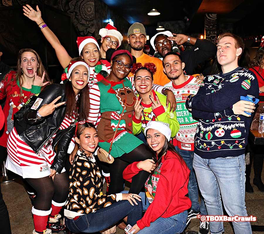 TBOX Bar Crawl - 12 Bars of Christmas, Chicago Wrigleyville Pub Crawl