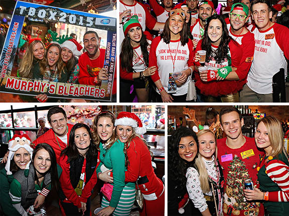 Chicago Events - Things to Do in Chicago - TBOX Bar Crawl - 12 Bars of Xmas Pub Crawl