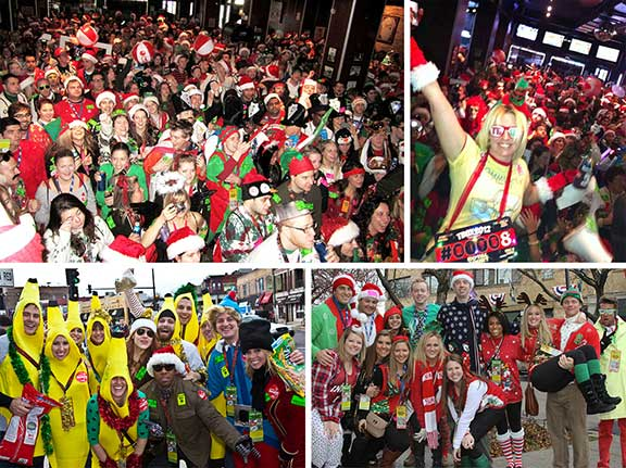 Chicago's Legendary Party - TBOX / 12 Bars of Christmas Pub Crawl
