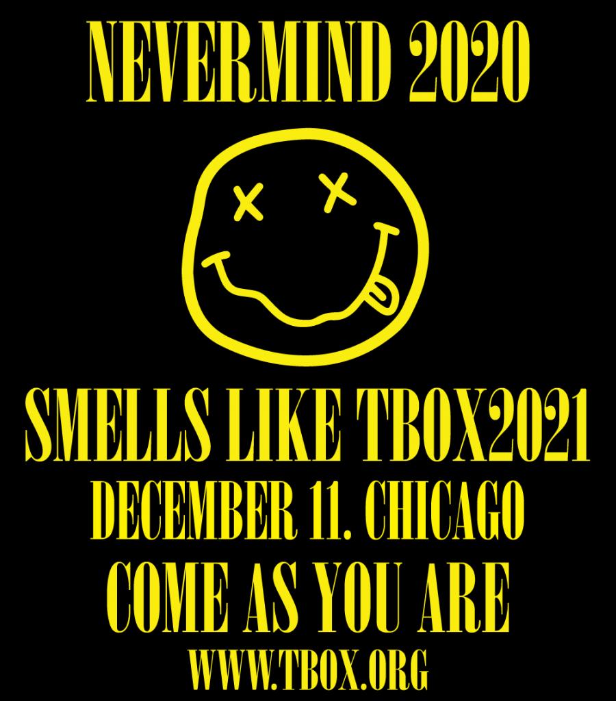 TBOX2021 - 12 Bars of Xmas Chicago Christmas Bar Crawl - 90s Themed Pub Crawl - Nirvana