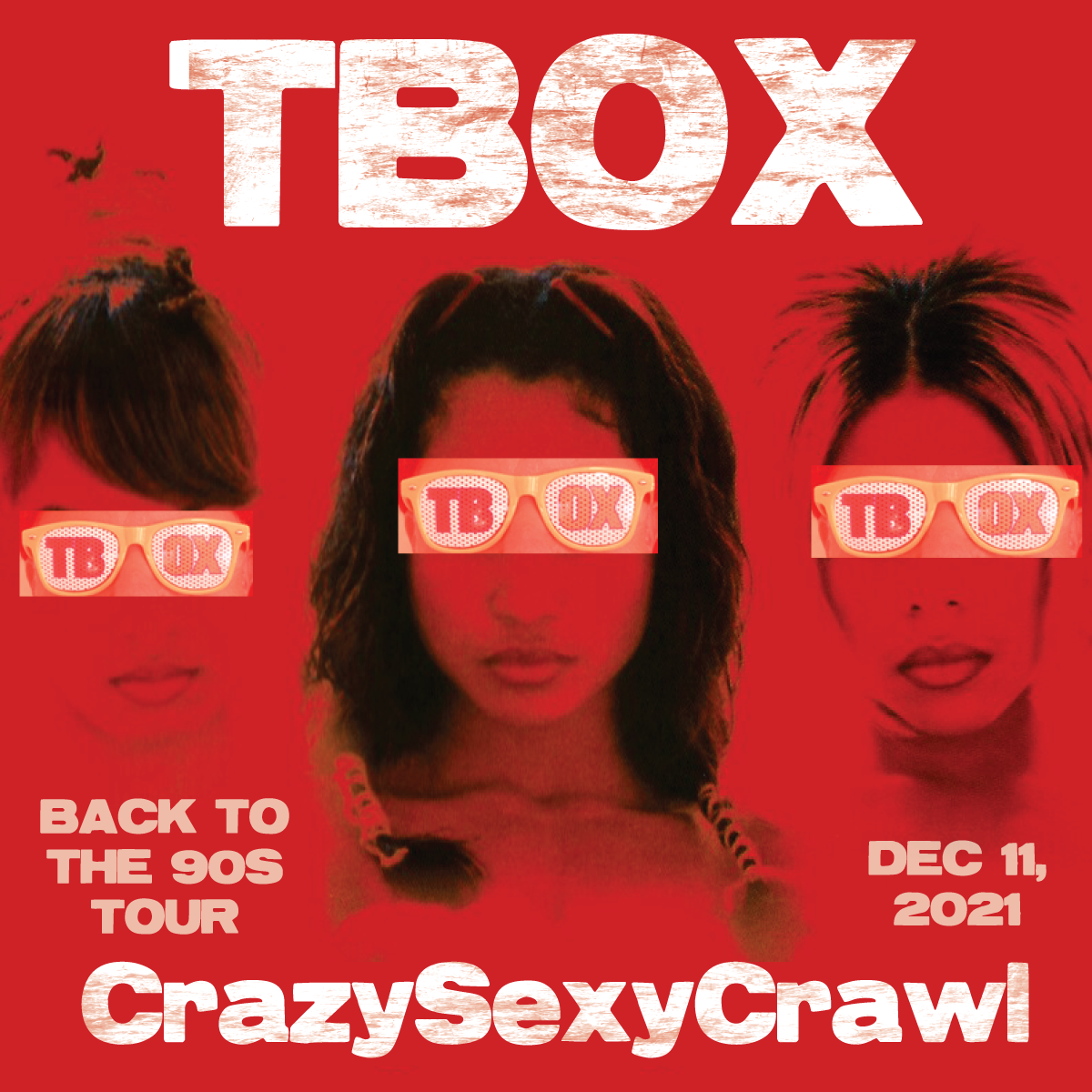 TBOX 2021 Going Back to the 90s / 90s Music / 90s Fun / 90s Throwback - Chicago Pub Crawl