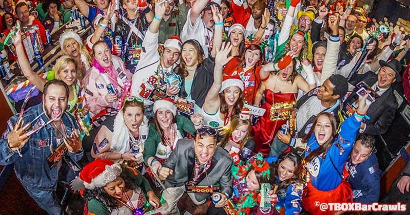 TBOX Pub Crawl - Wrigleyville Chicago Christmas Bar Crawl - 12 Bars of Xmas by Festa Parties