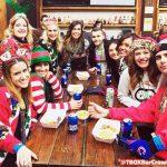 Wrigley Bar Crawl - Chicago Christmas Pub Crawl - TBOX, The 12 Bars of Xmas in Chicago