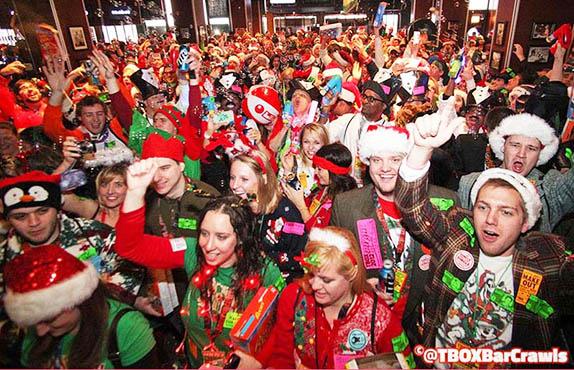 TBOX - 12 Bars of Xmas - Chicago Bucket List Experience - Twelve Bars of Christmas Chicago Pub Crawl