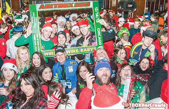 Twelve Bars of Xmas, Chicago Christmas Pub Crawl, Chicago Bar Crawls
