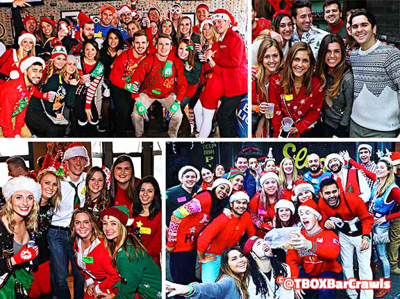 Chicago 12 Bars of Christmas Pub Crawl - Festa Wrigleyville Christmas Crawl - TBOX - TBOX2021 - TBOX2022 - TBOX2023 - Chicago Events