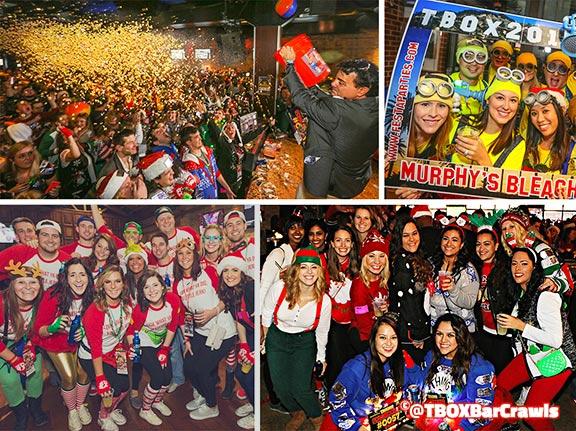TBOX - Chicago 12 Bars of Xmas Wrigleyville Christmas Pub Crawl