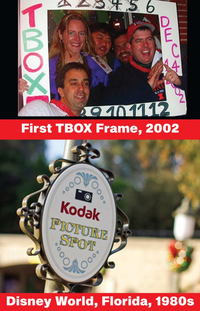 Inspiration and the First TBOX Frame - TBOX Bar Crawl