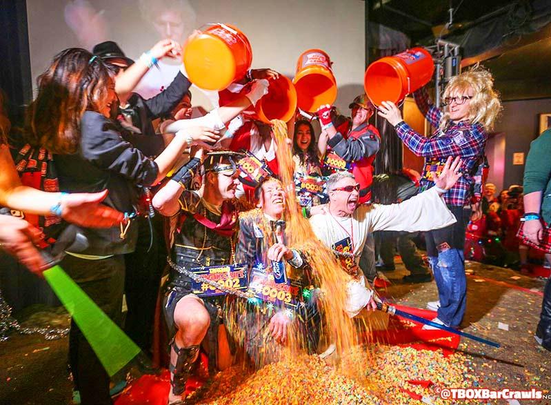 TBOX Chicago Bar Crawl - Cereal Shots - Wrigleyville Christmas Pub Crawl