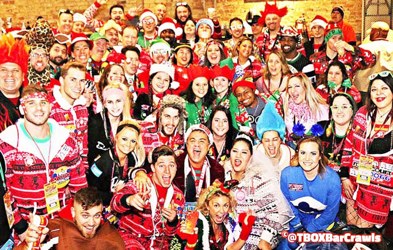 TBOX 2018 Opening Ceremonies - Cubby Bear Wrigley - Festa Parites 12 Bars of Christmas Chicago bar Crawl