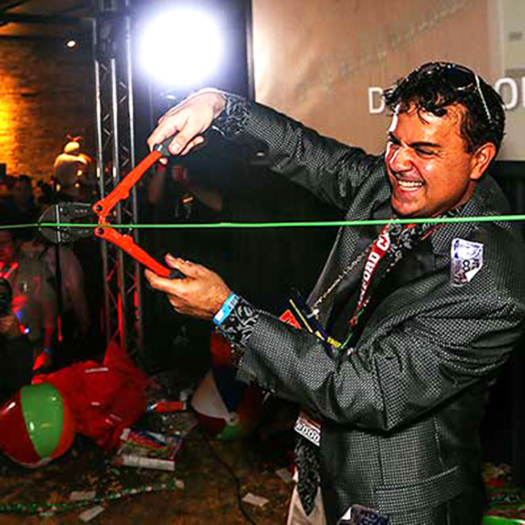 Mister Festa Officially Cutting the Wire at TBOX 2015