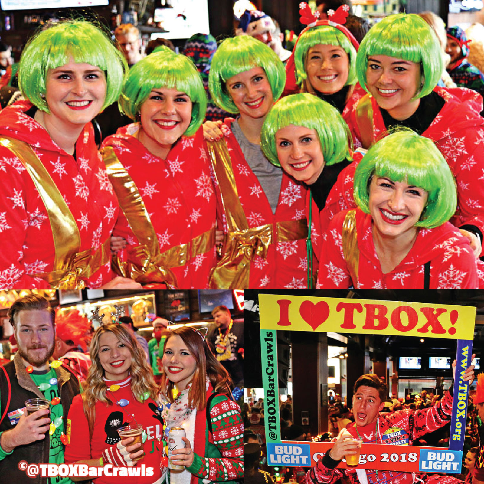 TBOX - #TBOX - #TBOX2021 - TBOX2021 - 12 Bars of Christmas Pub Crawl