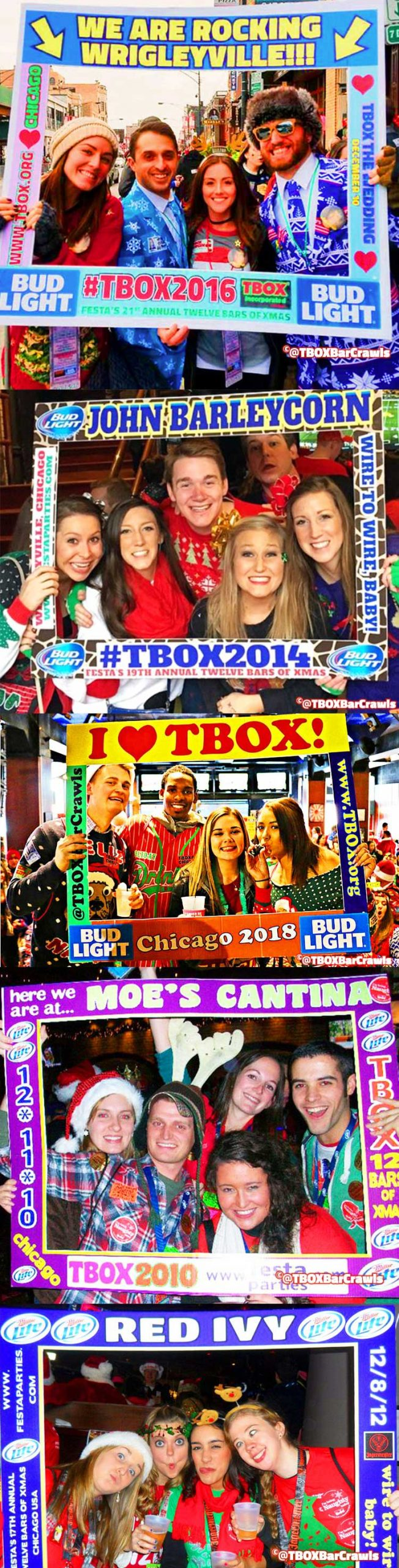 Frames at TBOX Bar Crawl - 12 Bars of Christmas in Chicago