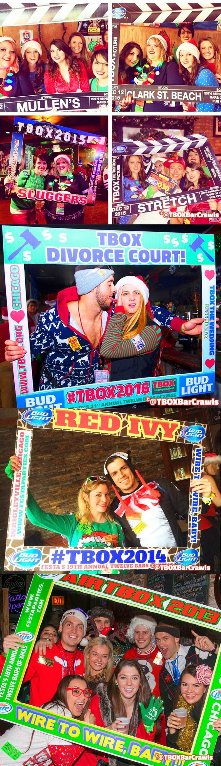 TBOX Bar Crawl - Picture Frames - Chicago Fun Events, Things to do in Chicago - TBOX