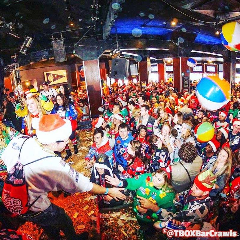 TBOX Bar Crawl - Chicago 12 Bars of Xmas, Chicago Events, Chicago Wrigleyville Christmas Pub Crawl