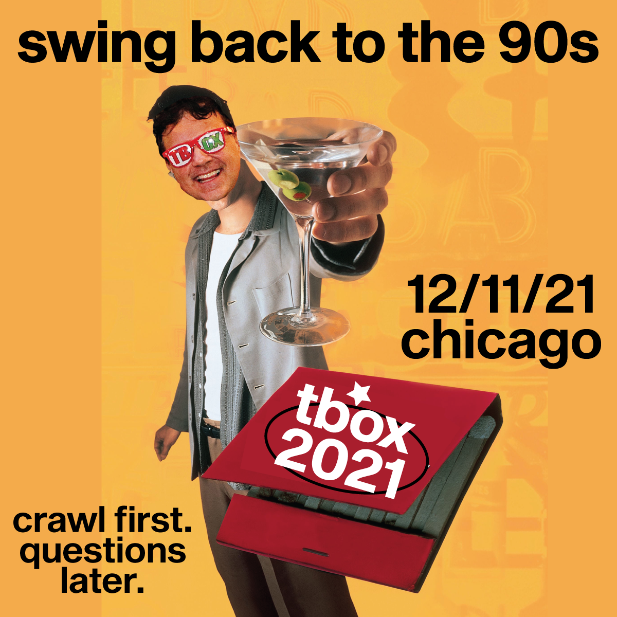 TBOX 2021 - Festa Parties - 90s Themed Chicago Christmas Pub Crawl