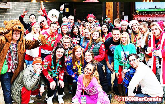 10 - 12 Bars of Christmas Pub Crawl - TBOX Bar Crawls in Chicago