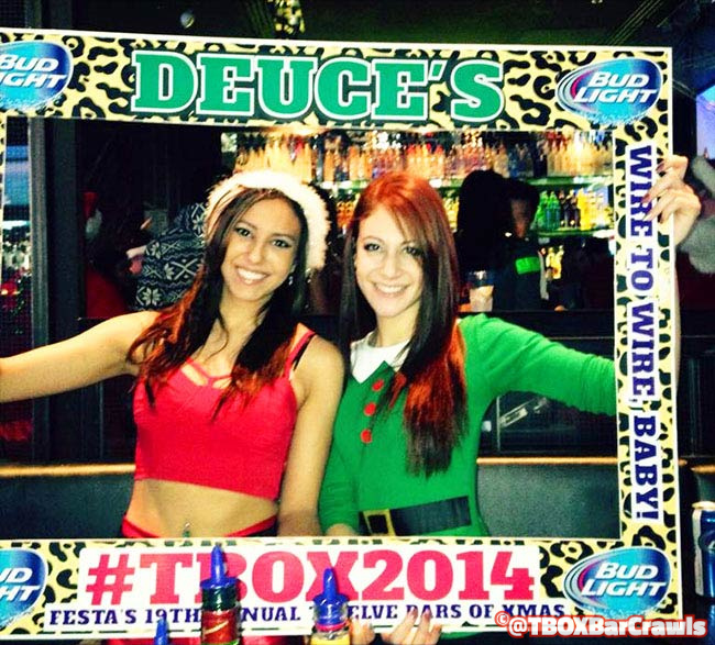 TBOX - 12 Bars of Christmas Wrigleyville Xmas Pub Crawl by Festa Parties in Chicago