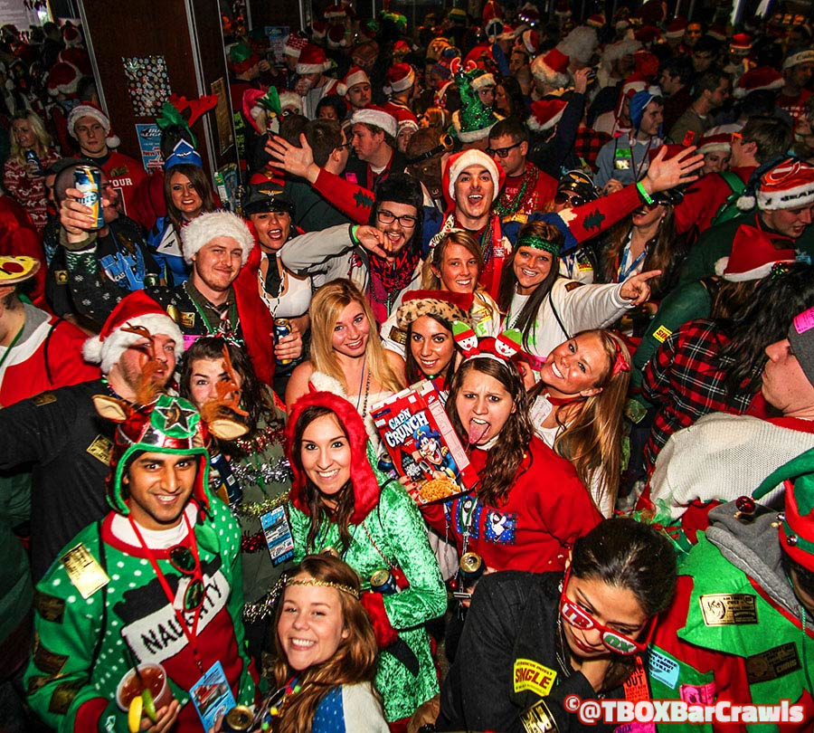 TBOX Chicago Bar Crawl Tickets - 12 bars of xmas wrigleyville