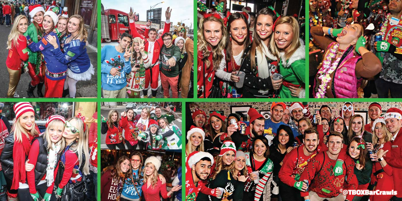 12 Bars of Xmas - Chicago Christmas Crawl - Chicago Events - TBOX - TBOX2021